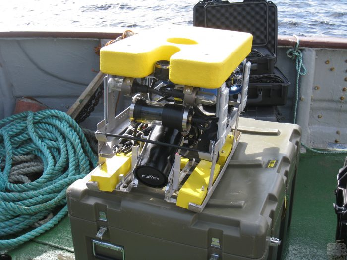 Outland 1000 ROV with Sensor front mounted