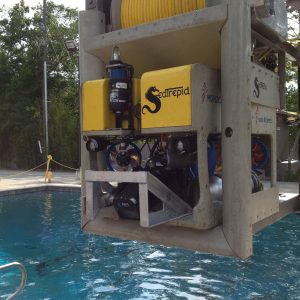 Mohican ROV with Sensor for SIT