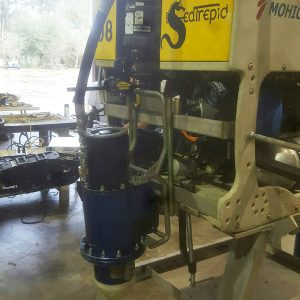 Mohican ROV with Electric Torque Tool Integration Testing
